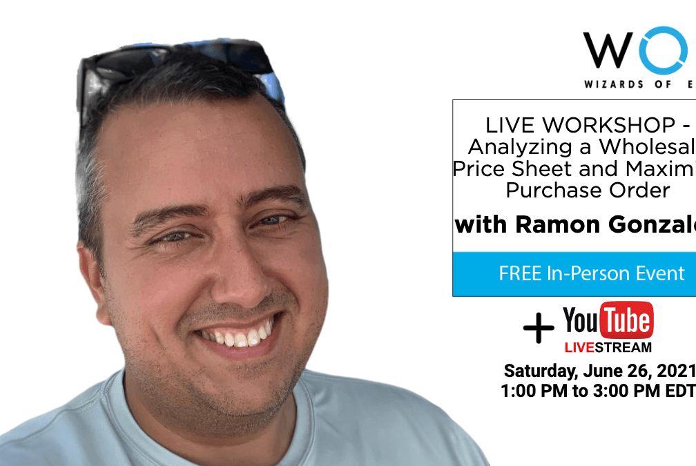 LIVE WORKSHOP - Analyzing a Wholesale Price Sheet and Maximize Purchase Order 1